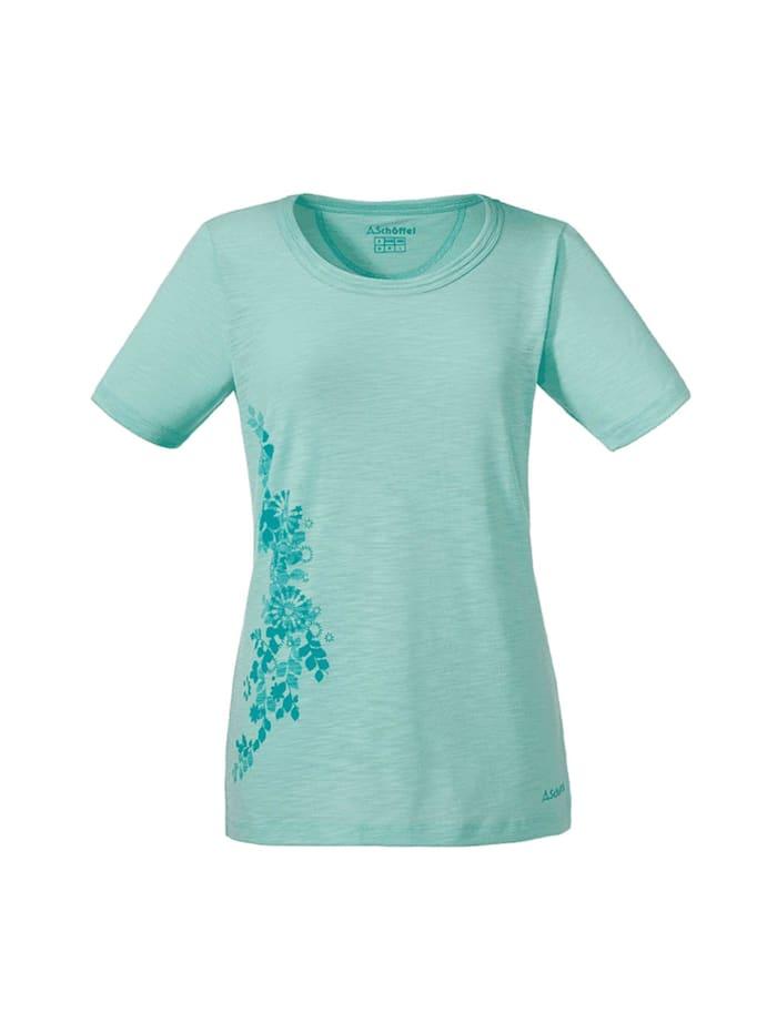 Schöffel Schöffel T-shirt T Shirt Kinshasa, Türkis