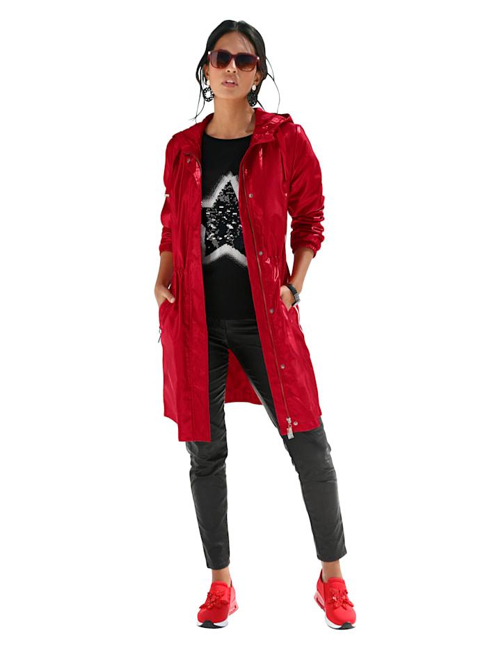 Dlouhá bunda v lesklé kvalitě