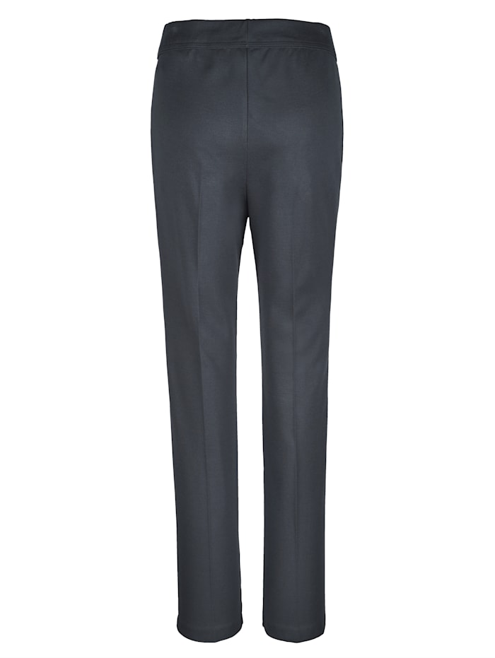 Pantalon de loisirs à plis surpiqués