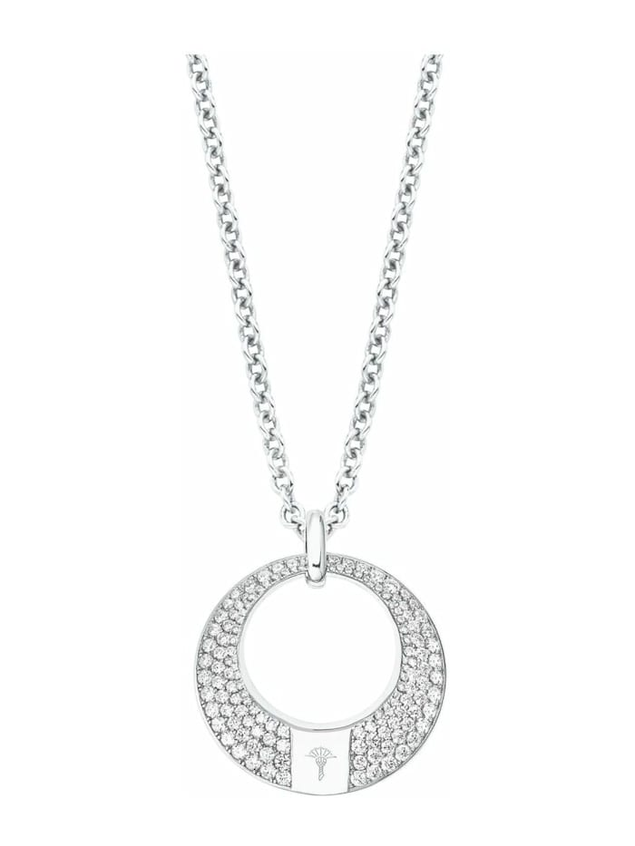 JOOP! Kette mit Anhänger für Damen, Sterling Silber 925, Motiv, Silber