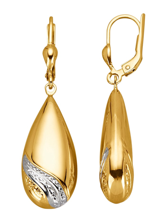 Diemer Gold Oorbellen, Geelgoudkleur