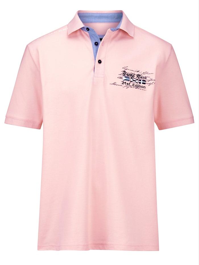 BABISTA Poloshirt met bijzondere prints, Roze