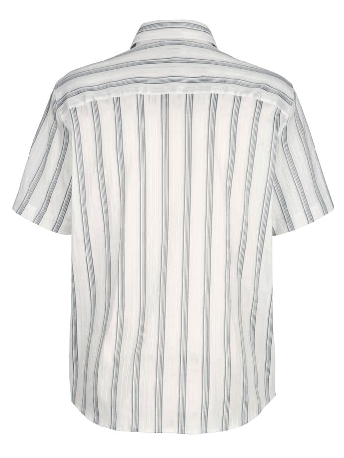 Overhemd met glansstrepen
