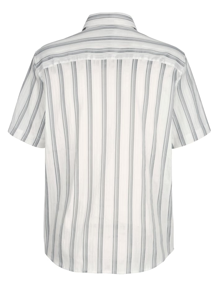 Skjorte med glangsstriper