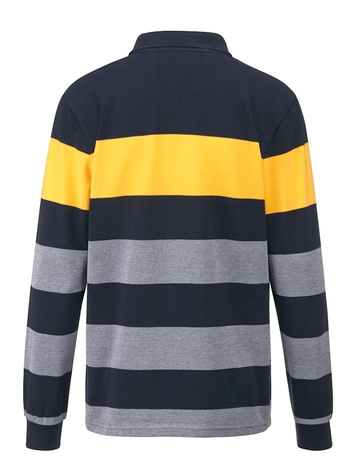 Sweatshirt van licht piquémateriaal