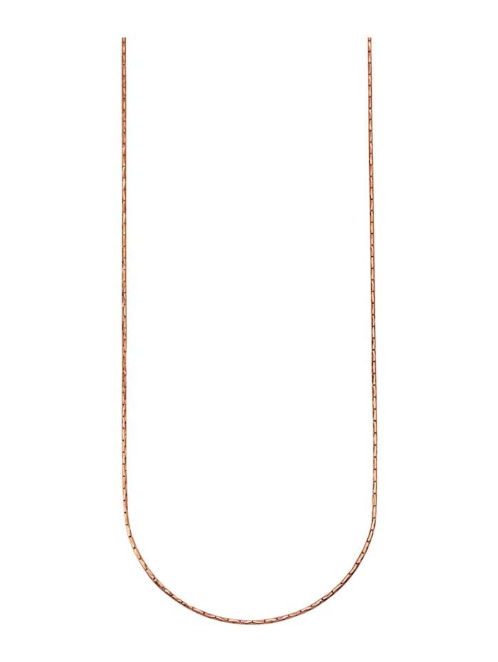 Ankerkette in Siber 925, Rosé