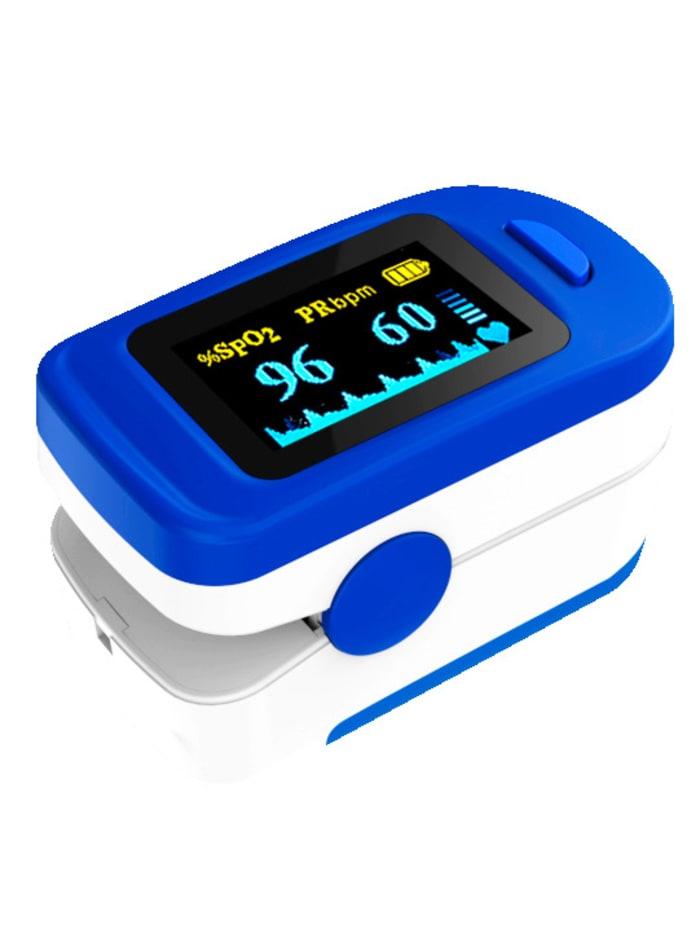 Pulsoximeter voor het meten van hartslag en zuurstofgehalte