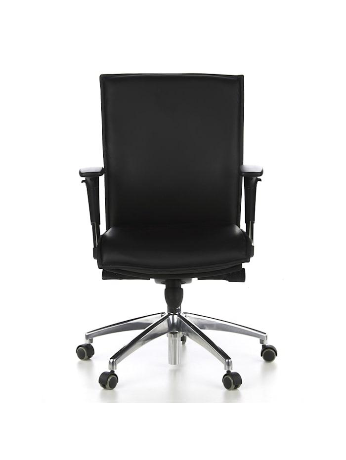 hjh OFFICE Luxus Chefsessel MURANO 10, Schwarz