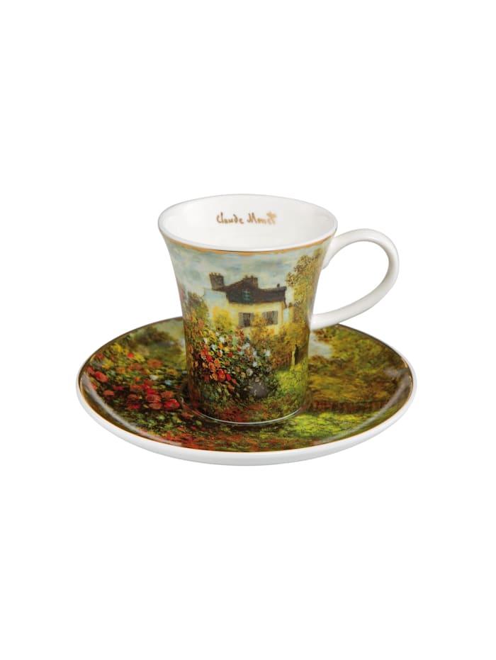Goebel Goebel Espressotasse Claude Monet - Das Künstlerhaus, Monet - Künstlerhaus