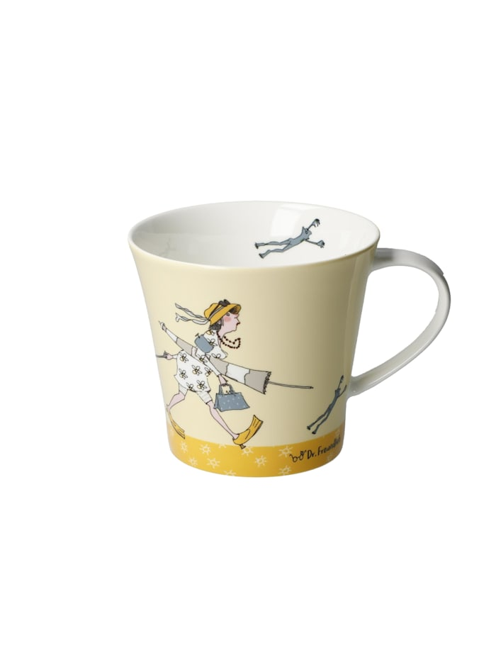 "Goebel Goebel Coffee-/Tea Mug Barbara Freundlieb - ""I need Vitamin Sea"", Bunt"