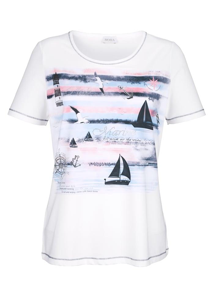 Shirt mit maritimen Dessin