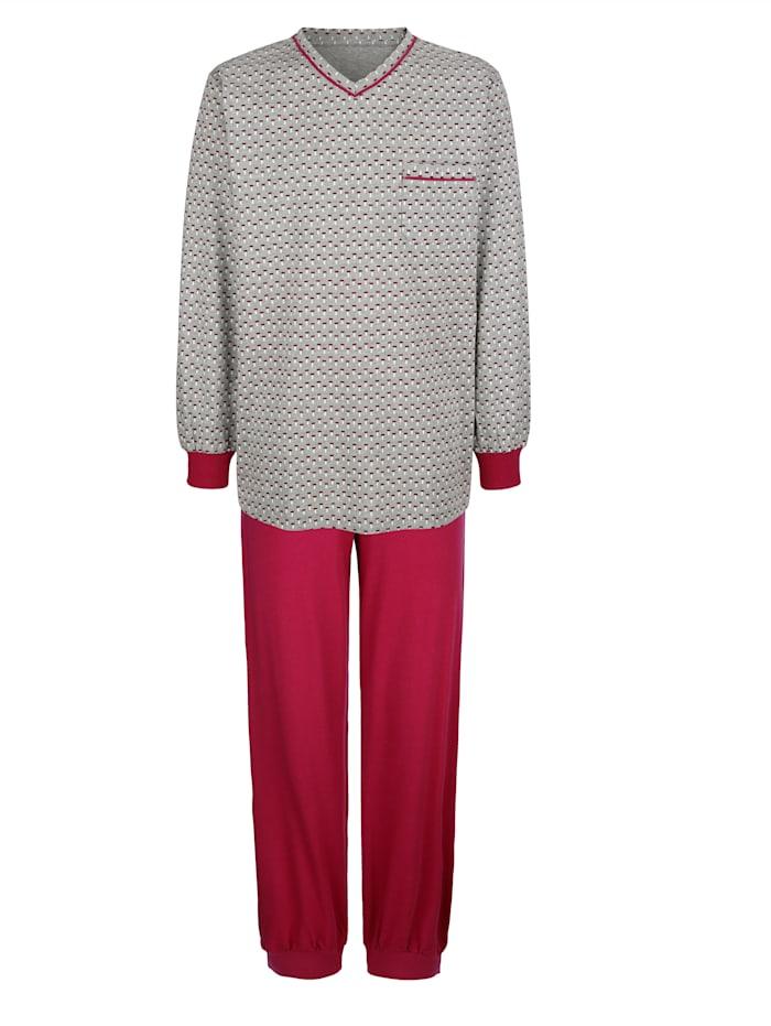 Pyjamas i 2-pack i bomull från Cotton made in Africa-programmet