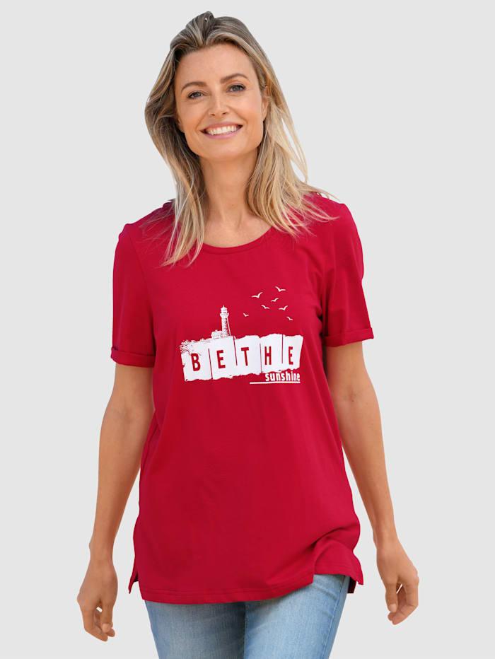 basically you Shirt mit Motivdruck, Rot