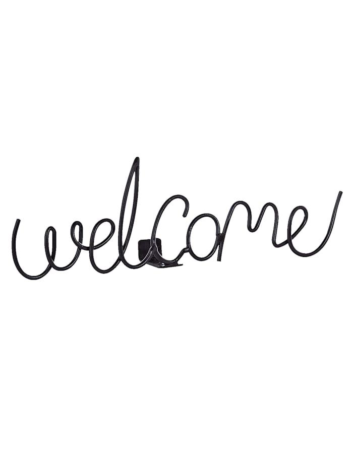 Schriftzug Welcome
