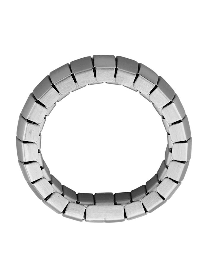 Ring i rostfritt stål med magnet