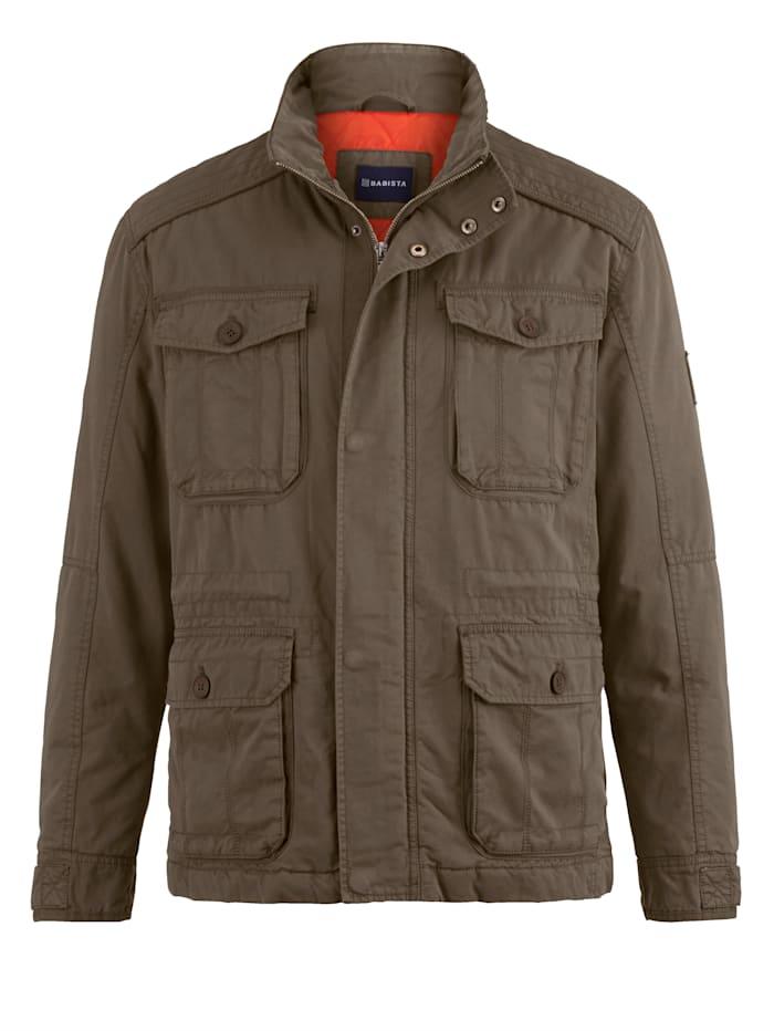 BABISTA Jacke mit vielen praktischen Taschen, Oliv