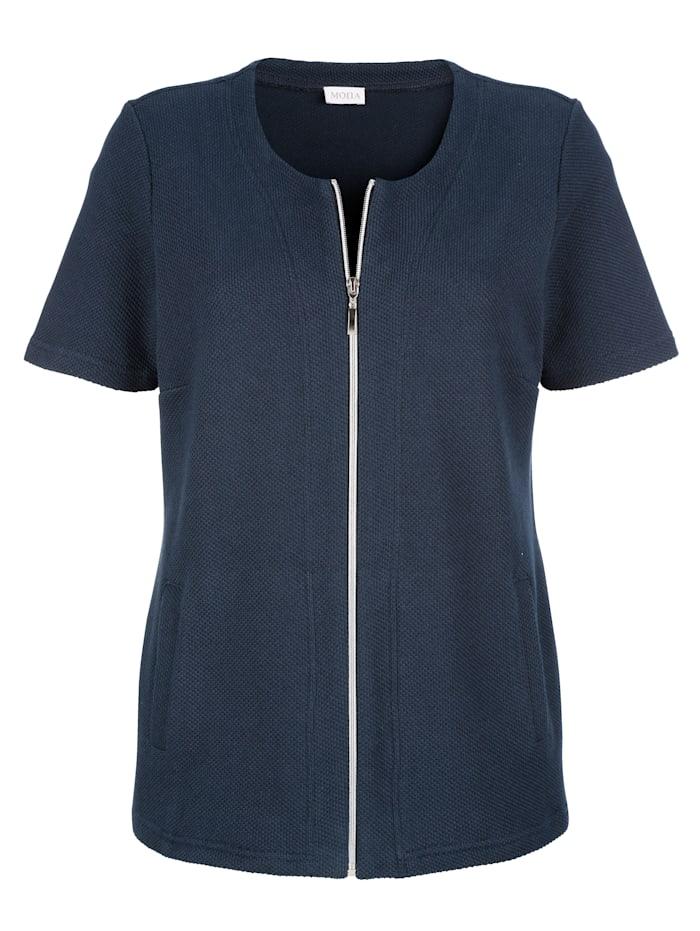 Shirtjacke aus reiner Baumwolle
