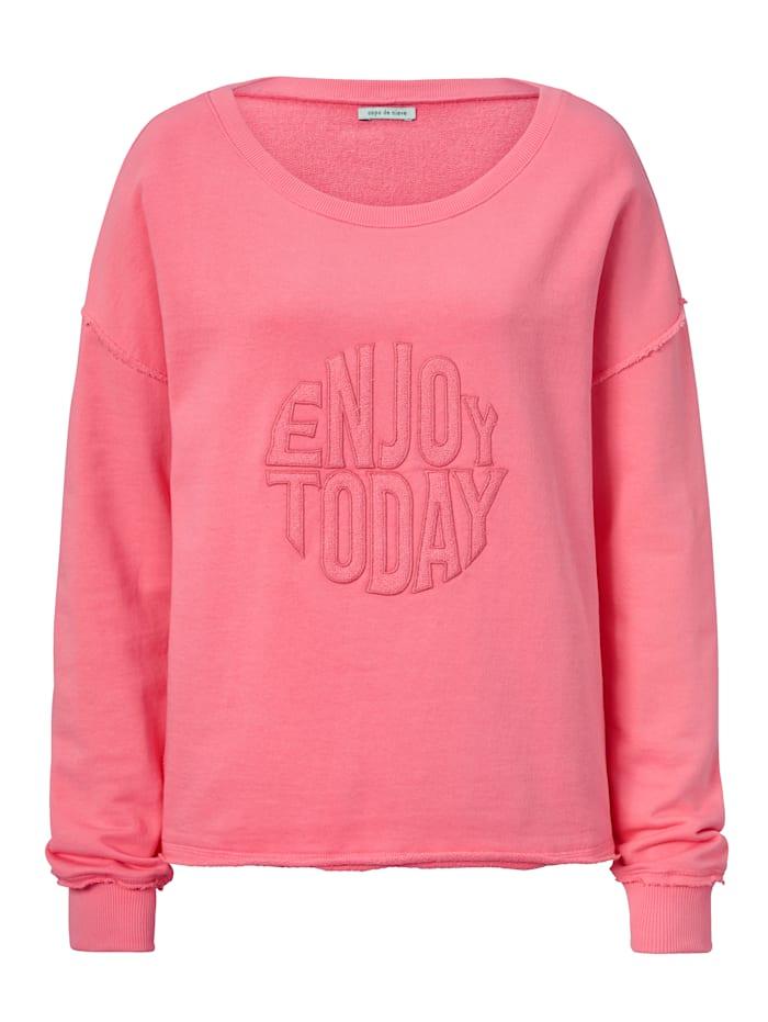 copo de nieve Sweatshirt, Pink