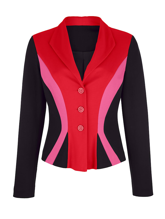 Blazer made from soft jersey