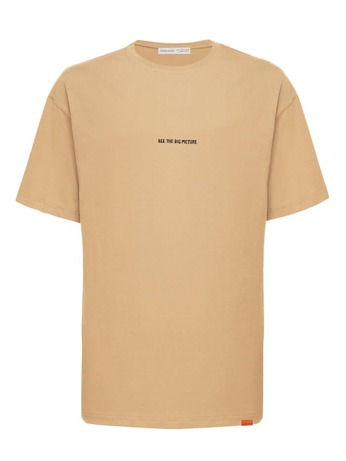 Grimelange T-Shirt River ., beige
