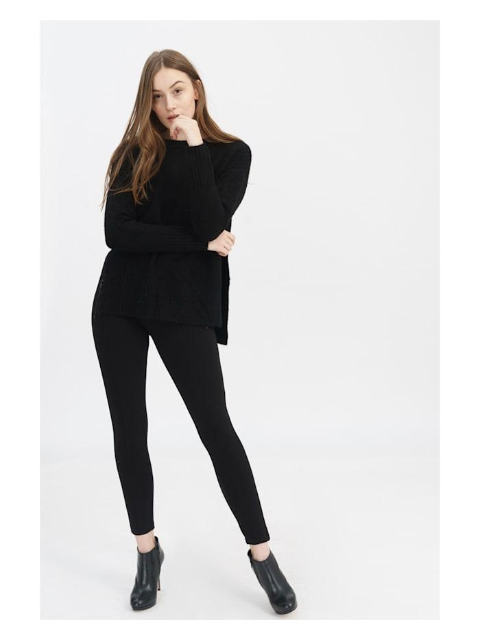 Pullover Nele mit stylischem Strickmuster