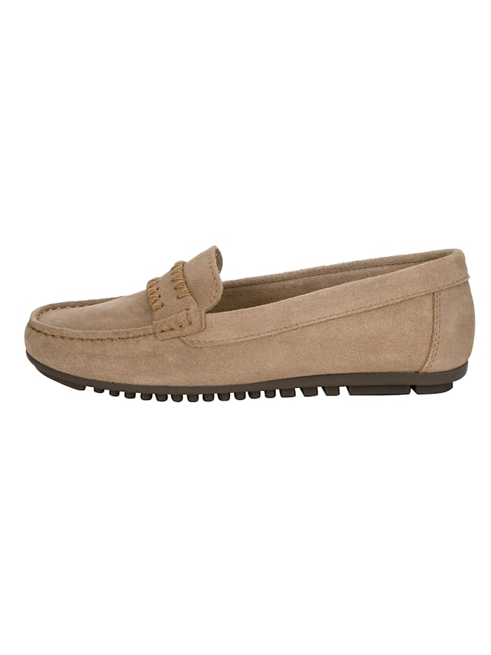 Loafers med välarbetade sömmar
