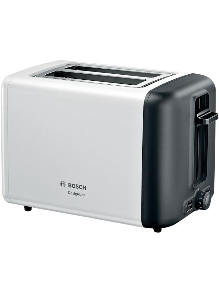 Bosch Toaster DesignLine TAT 3P421DE, Weiß