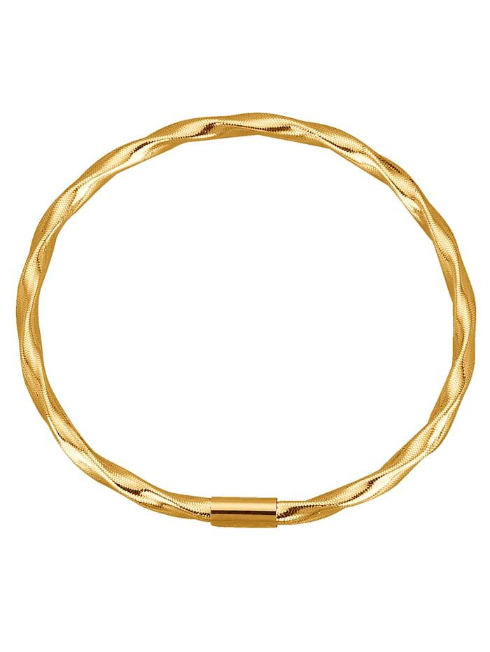 Omega armband 14 kt., Geel