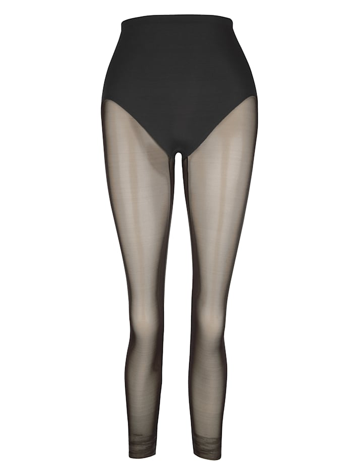Naomi & Nicole Corrigerende onderbroek in legging-model, Zwart