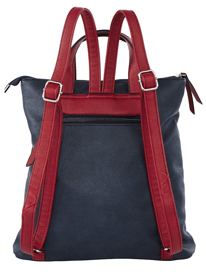 Rucksack in harmonischer Farbgebung