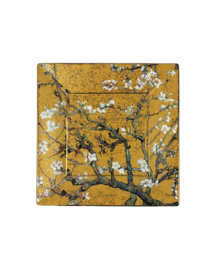 Goebel Goebel Schale Vincent van Gogh - Mandelbaum Gold, van Gogh - Mandelbaum gold