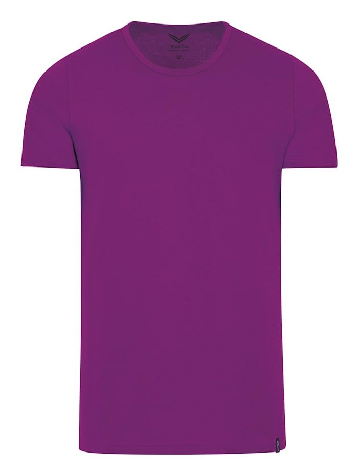 Damen T-Shirt aus Baumwolle/Elastan