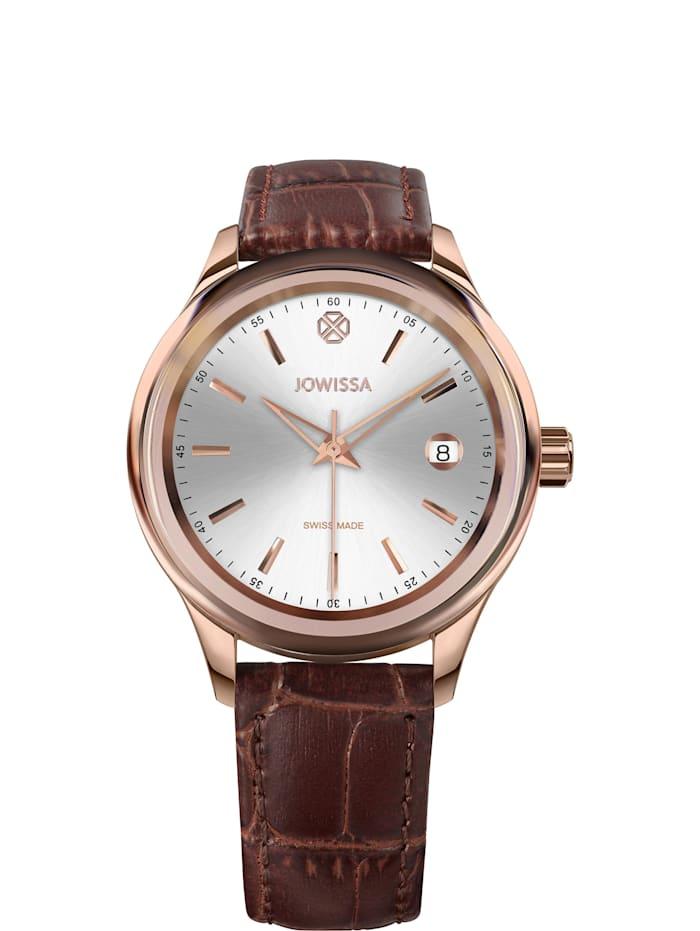 Jowissa Quarzuhr Tiro Swiss Made Watch, braun
