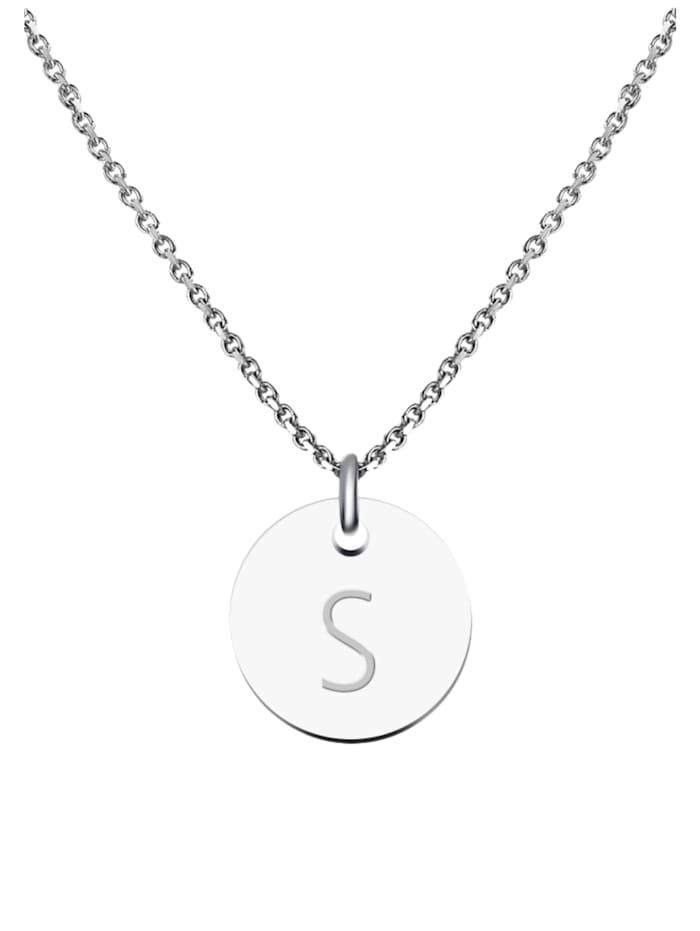 GOOD.designs Kette mit Anhänger Edelstahl Halskette S, silber