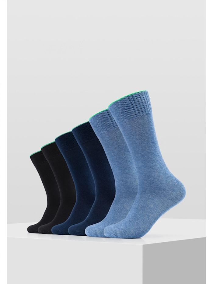 Socken 6er Pack