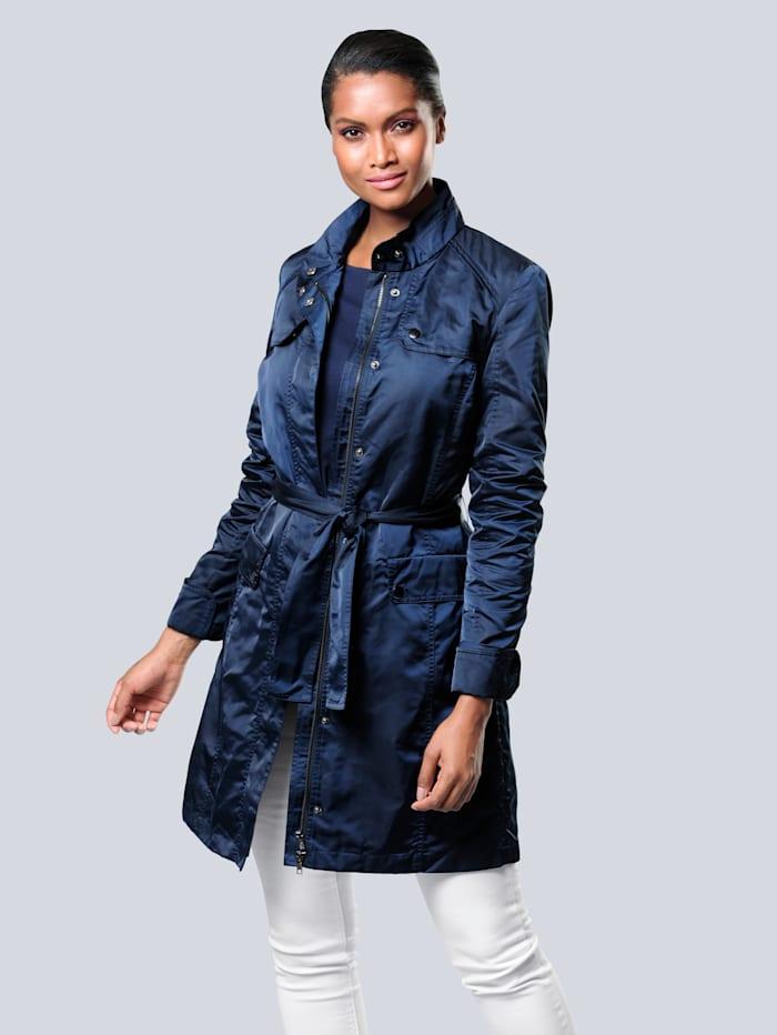 Trench-coat avec ceinture