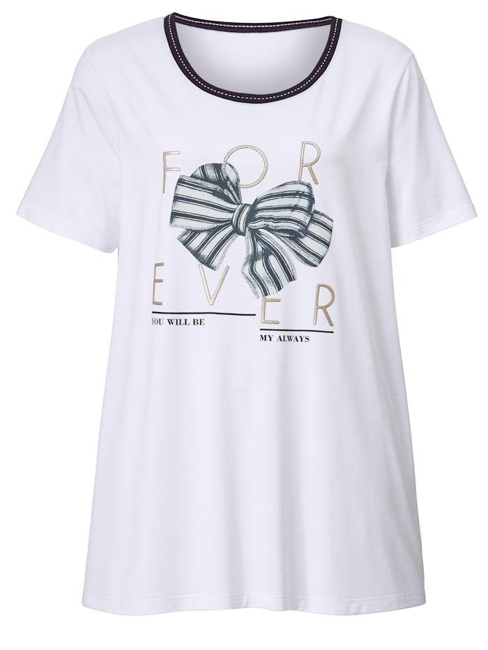 Shirt met strikjesprint