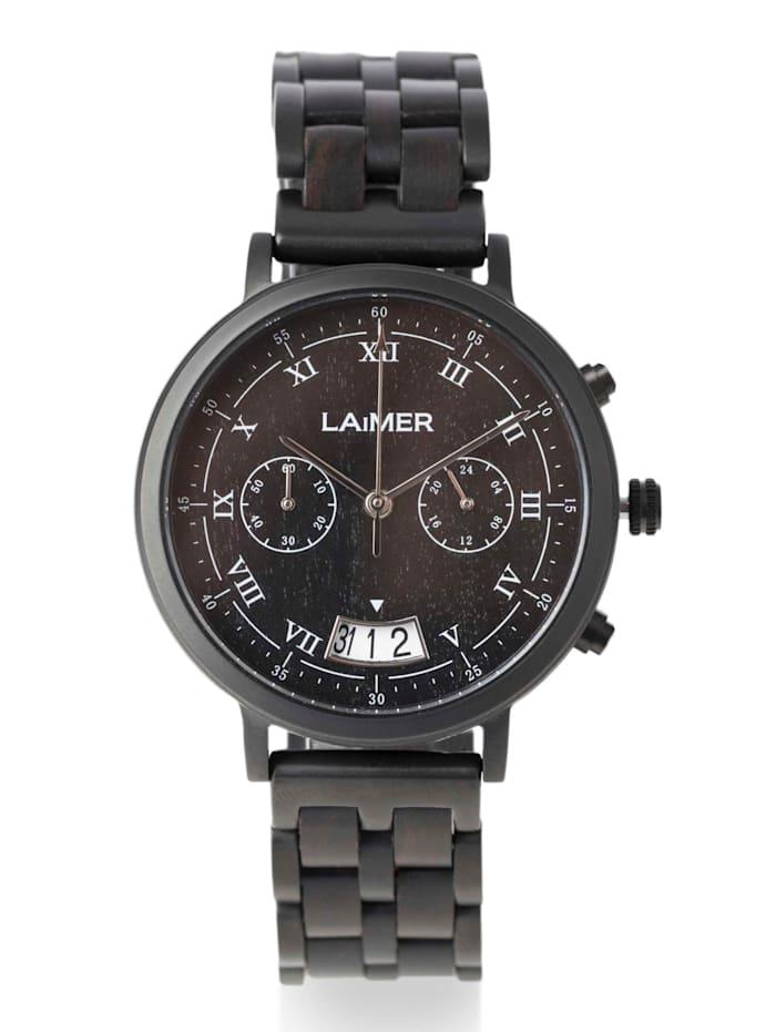 Laimer Herrenuhr-Chronograph 0079 Laimer Lucio, Schwarz