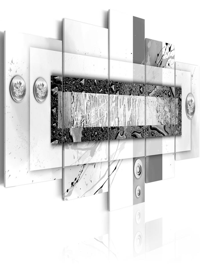 artgeist Wandbild Grauabgleich, Weiß,Schwarz,Grau