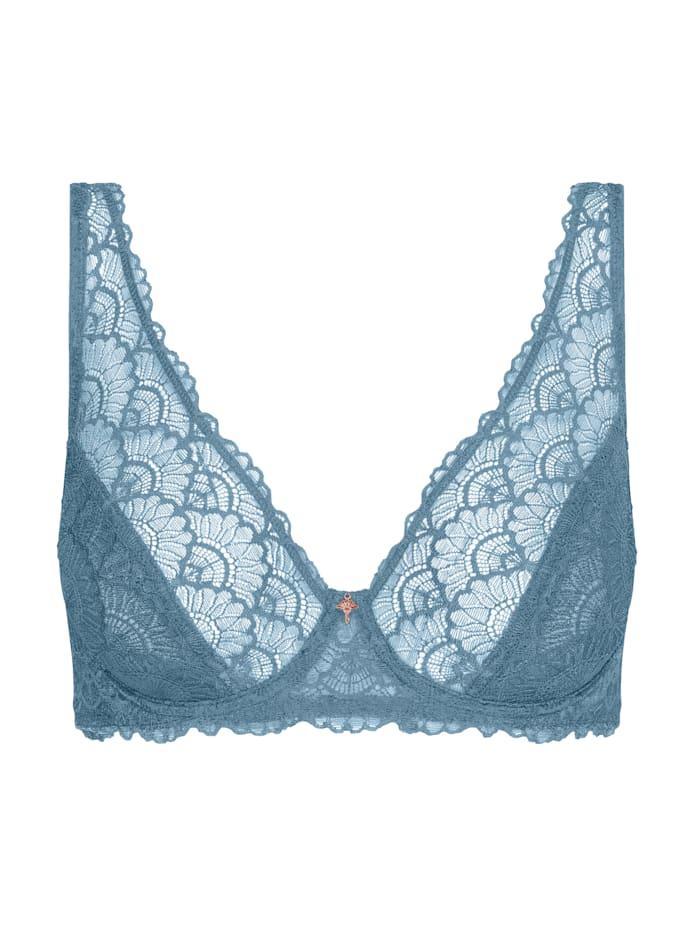 JOOP! Bügel-BH aus der Serie Lovely Lace, Blau