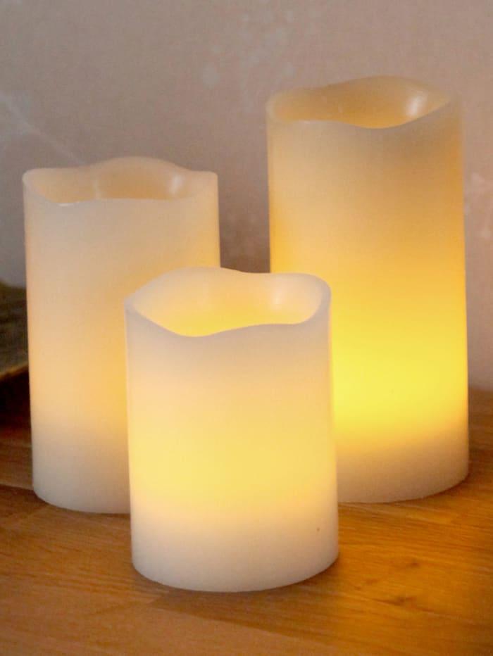 LED-kynttilä, 3/pakkaus