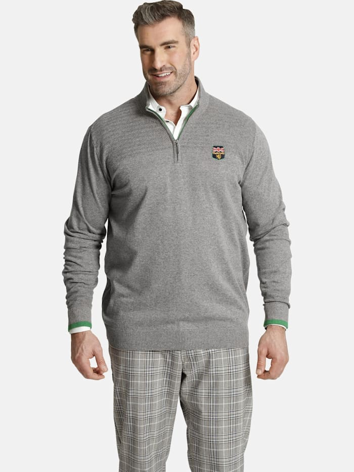 Charles Colby Charles Colby Pullover EARL PETE, grau