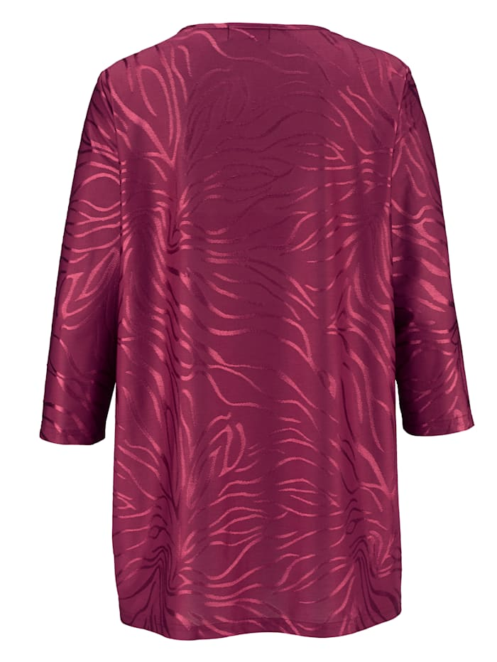 Shirt im Jacquard-Design