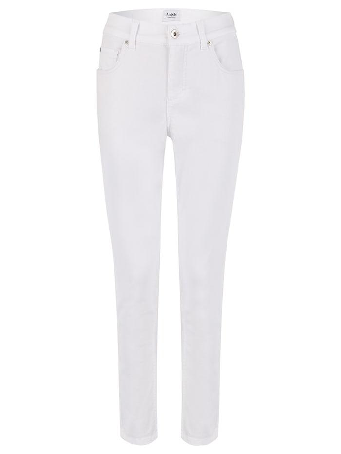 Angels Jeans ,Skinny' mit Five-Pocket-Design, weiß