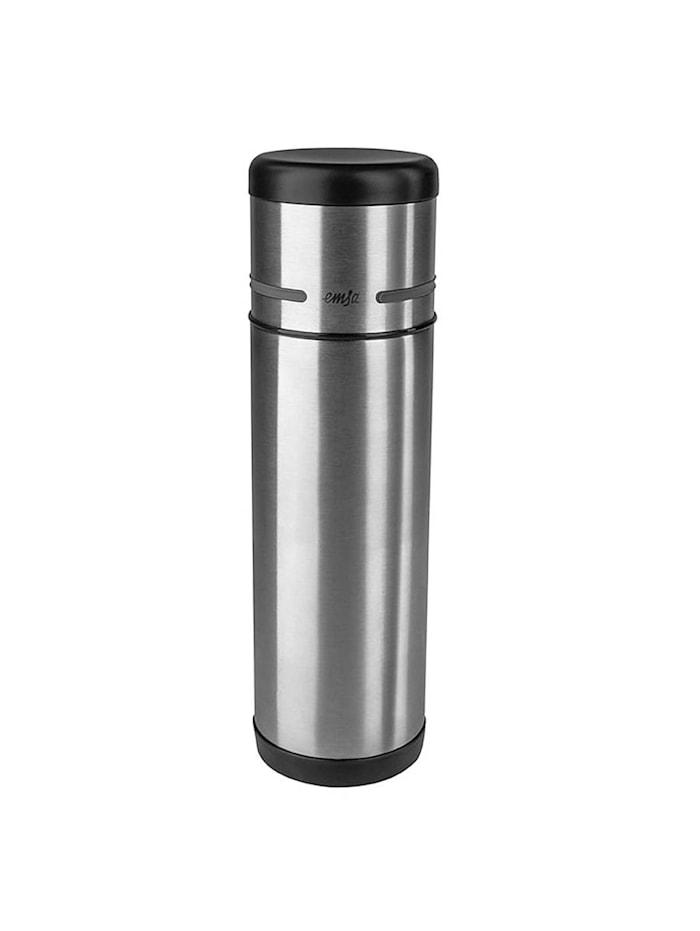 EMSA Isolierflasche 0,5 Liter Mobility, Schwarz