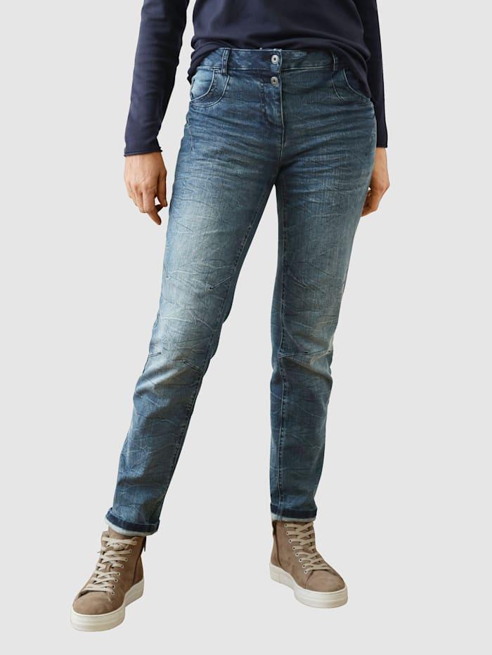 Dress In Jeans i boyfriendmodell, Dark blue