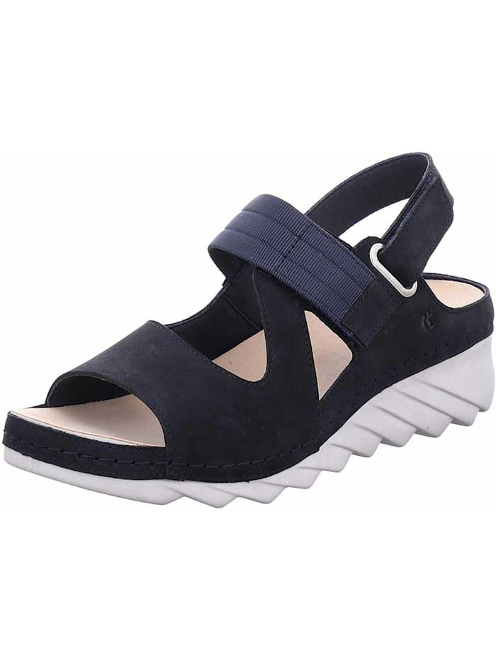 Romika Sandalen/Sandaletten, blau