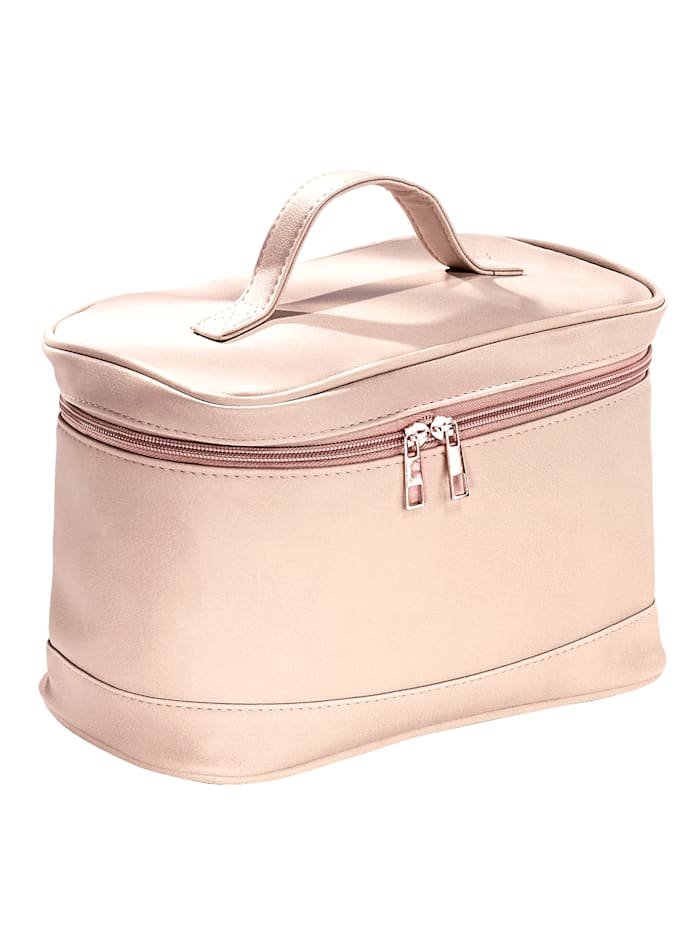 Cosmetic Bag, Nude