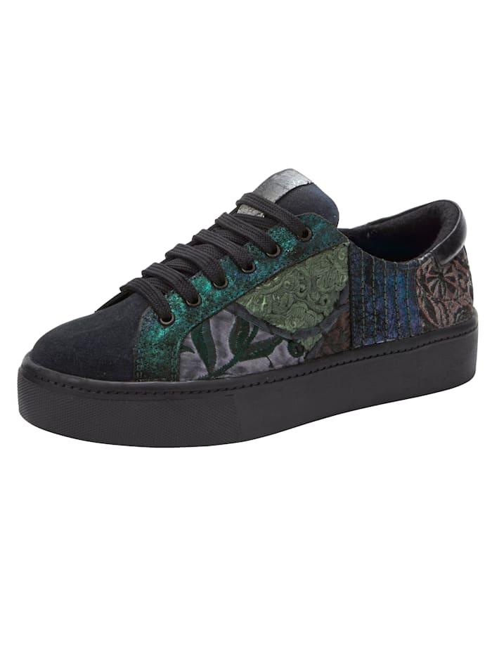 ROCKGEWITTER Šnurovacia obuv vo Vintage vzhľade, Námornícka