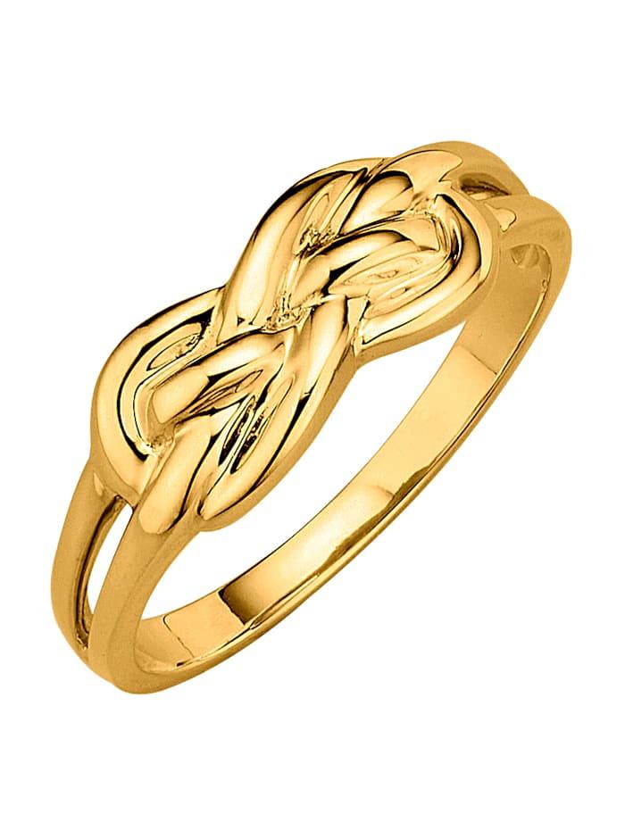 Diemer Highlights Damenring aus Gelbgold 585, Gelbgoldfarben